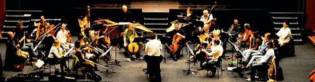 Die Musiker des Orchesters Neue Düsseldorfer Hofmusik