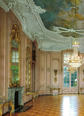 Wandelkonzerte Schloss Benrath - Gartensaal