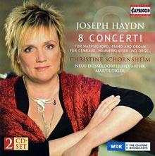 Joseph Haydn - 8 Concerti für Cembalo, Hammerklavier und Orgel