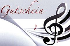 Konzert Gutschein