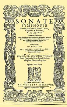 Marini Sonate Symphonie