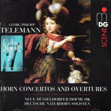Georg Philipp Telemann - Horn Concertos and Overtures