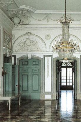 Wandelkonzerte Schloss Benrath - Vestibül