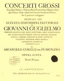 Widmung Concerto Grossi