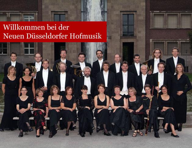 Neue Düsseldorfer Hofmusik - barockes Orchester Düsseldorf