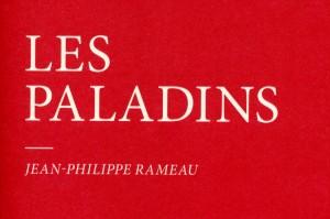 J.-Ph. Rameau: Les Paladins