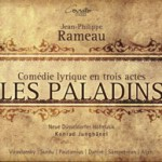 Rameau - Les Paladins - CD-Cover