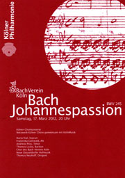 Bach Johannespassion