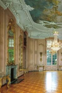 Schloss Benrath, westlicher Gartensaal - Foto Stiftung Schloss und Park Benrath