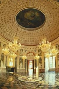 Schloss Benrath, Kuppelsaal –Foto Stiftung Schloss und Park Benrath