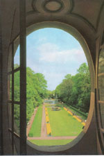 Schloss Benrath, Blick in den Park – Foto Stiftung Schloss und Park Benrath