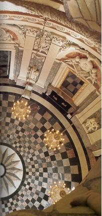 Schloss Benrath - Blick aus der Kuppel