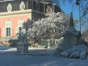 Schloss Benrath - Winterstimmung