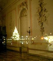christbaum-vestibuel